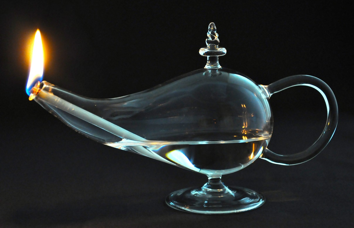Aladdin Oil Lamp | G.B.S. Glass Blowing