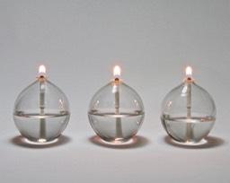 Small Ball Oil Lamp Set